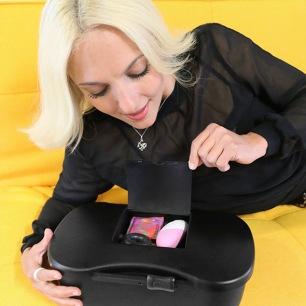 Dame De Produits - Pom Flexible Vibrateur Prune