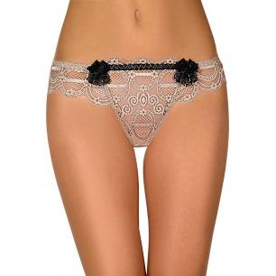Panty sexe peau/blanc