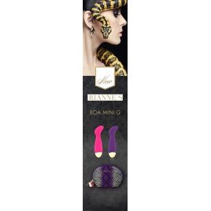 Bijoux Indiscrets - Bubblegum 2 en 1 Parfumée de Silicone de Massage et Intime