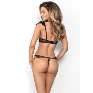 Baci - Argyle Jacquard Pantyhose One Size